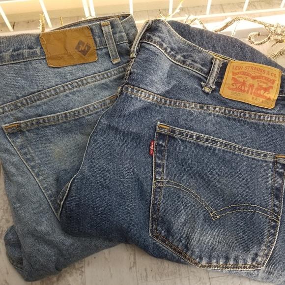 Levi's Other - BOGO! Levi's 550 +FREE Member's Mark 40Wx30L jeans